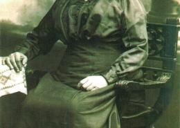 Maria Hametner um die Jahrhundertwende